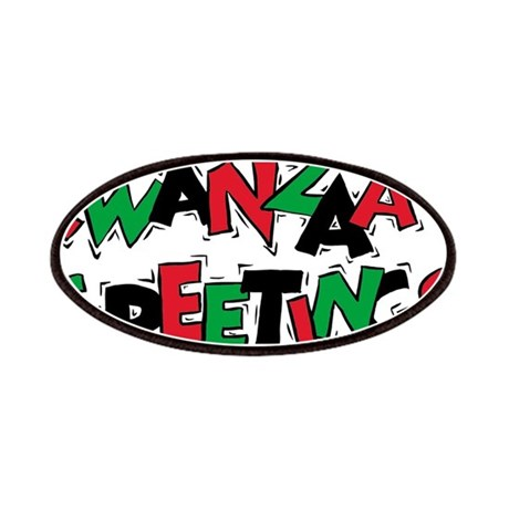 KWANZAA GREETINGS Patches