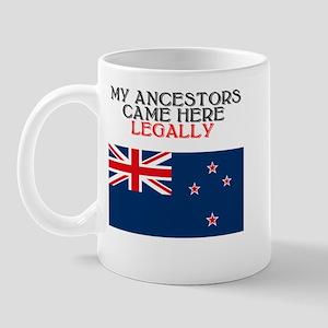 New Zealand Heritage Mug