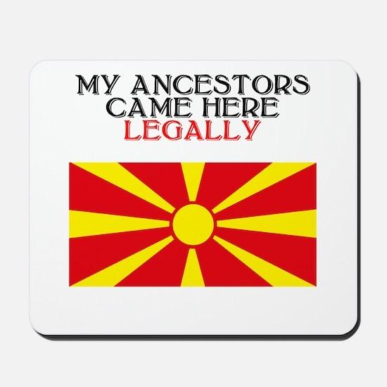 Macedonian Heritage Mousepad