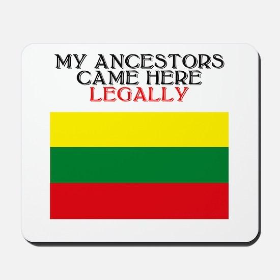 Lithuanian Heritage Mousepad