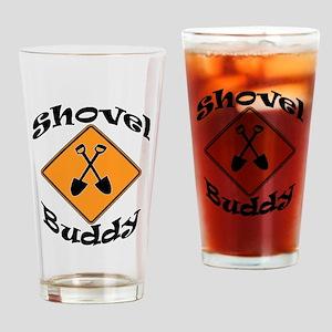 Shovel Buddy Pint Glass
