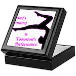 Gymnastics Keepsake Box - Training