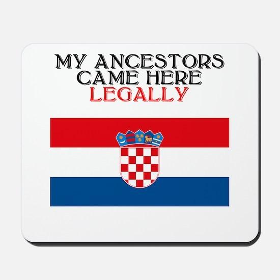 Croatian Heritage Mousepad