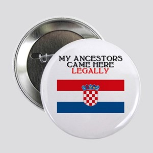 """Croatian Heritage 2.25"""" Button (10 pack)"""