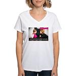 Douglas Collins poster #2 Women's V-Neck T-Shirt