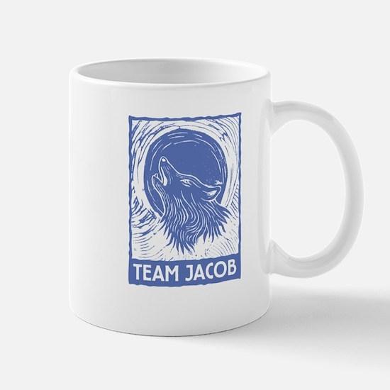 Team Jacob (linocut) Mug
