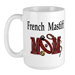French Mastiff Large Mug