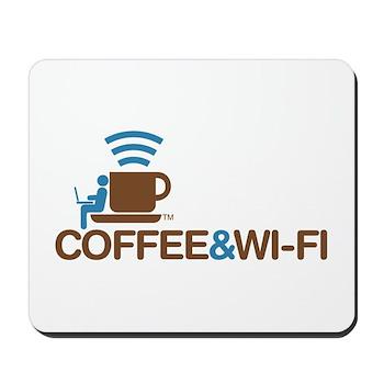Coffee & Wi-Fi Mousepad