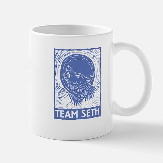 Team Seth (linocut) Mug