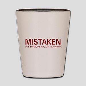 Mistaken Shot Glass
