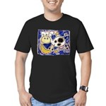 Cow Men's Fitted T-Shirt (dark)