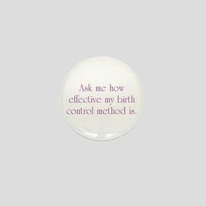 Birth Control Mini Button