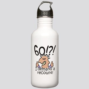 Recount 60th Birthday Stainless Water Bottle 1.0L