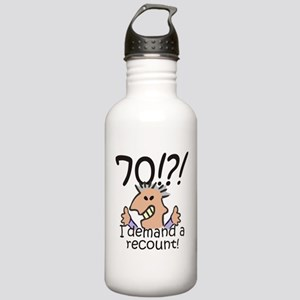 Recount 70th Birthday Stainless Water Bottle 1.0L