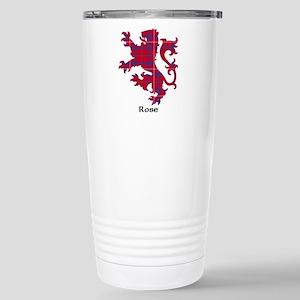 Lion - Rose Stainless Steel Travel Mug
