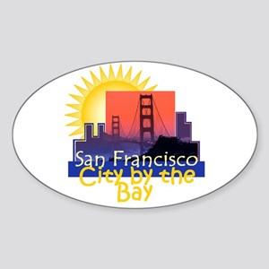 San Francisco Sticker (Oval)