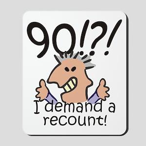 Recount 90th Birthday Mousepad