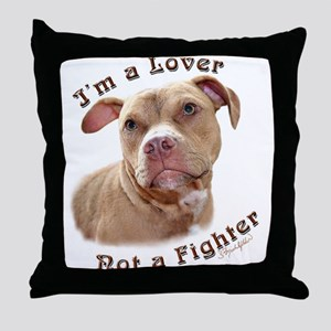 I'm a Lover Throw Pillow