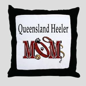 Queensland Heeler Throw Pillow
