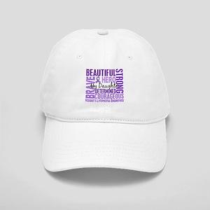 I Wear Violet 46 Hodgkin's Lymphoma Cap