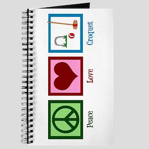 Peace Love Croquet Journal
