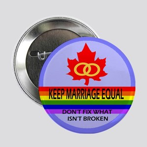 Keep Marriage Equal Button