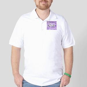 Tribute Square Hodgkin's Lymphoma Golf Shirt