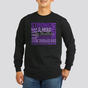 Tribute Square Hodgkin's Lymphoma Long Sleeve Dark