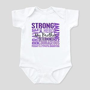Tribute Square Hodgkin's Lymphoma Infant Bodysuit