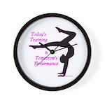 Gymnastics Wall Clock - Training