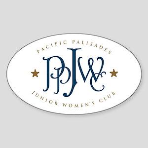 PPJWC Oval Sticker