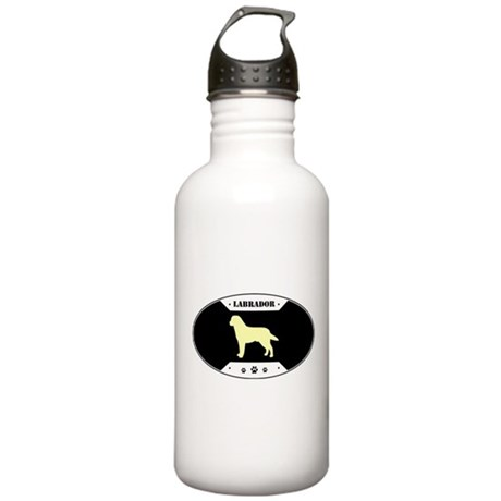 Metal Yellow Stainless Water Bottle 1.0L