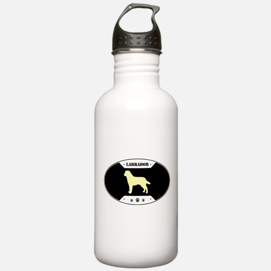 Metal Yellow Water Bottle