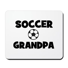 Soccer Grandpa Mousepad