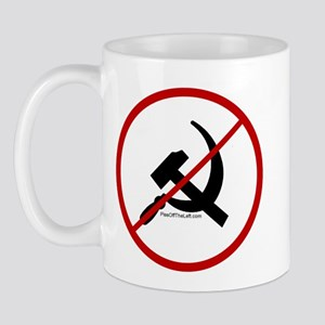 Sickle & Hammer No Communists Mug