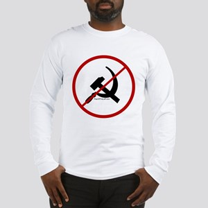 Sickle & Hammer No Communists Long Sleeve T-Shirt