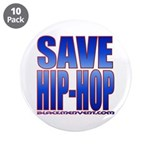 "Save Hip-Hop 3.5"" Button (10 pack)"