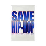 Save Hip-Hop Rectangle Magnet (10 pack)