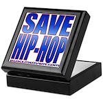 Save Hip-Hop Keepsake Box