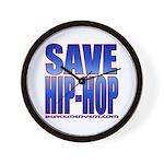 Save Hip-Hop Wall Clock
