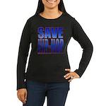 Save Hip-Hop Women's Long Sleeve Dark T-Shirt