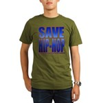 Save Hip-Hop Organic Men's T-Shirt (dark)