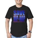 Save Hip-Hop Men's Fitted T-Shirt (dark)
