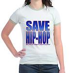Save Hip-Hop Jr. Ringer T-Shirt