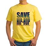 Save Hip-Hop Yellow T-Shirt