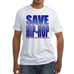 Save Hip-Hop Fitted T-Shirt