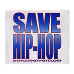 Save Hip-Hop Throw Blanket