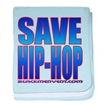Save Hip-Hop baby blanket