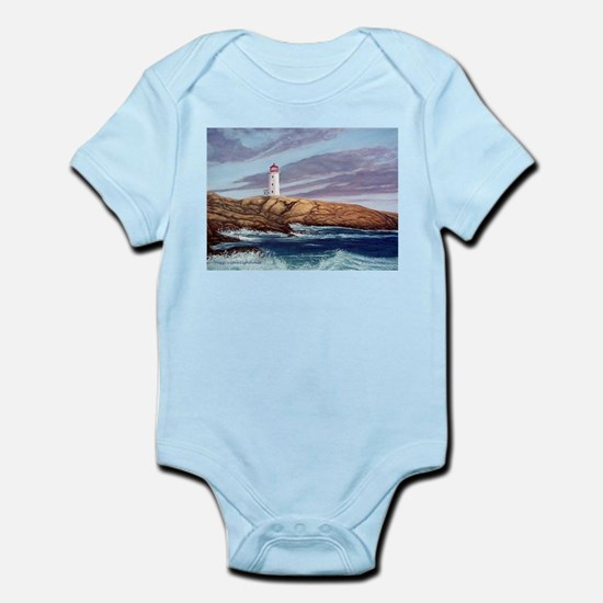 Peggy's Cove Lighthouse Infant Bodysuit