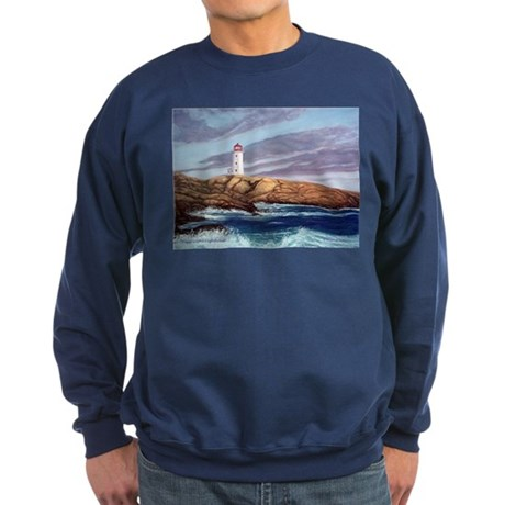 Peggy's Cove Lighthouse Sweatshirt (dark)